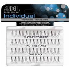 Ardell zestaw Individual 56 kępek rzęs Long Black x6