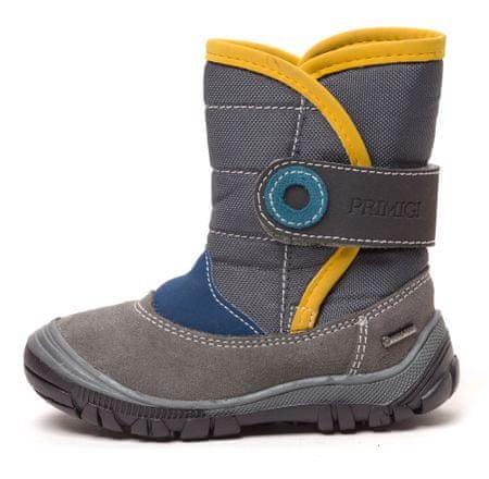 Primigi fantovski čevlji za sneg 34 siva