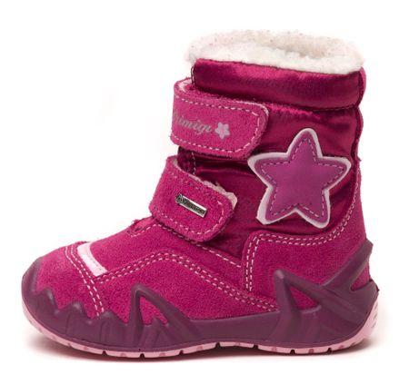 Primigi dekliški čevlji za sneg Star 25 roza