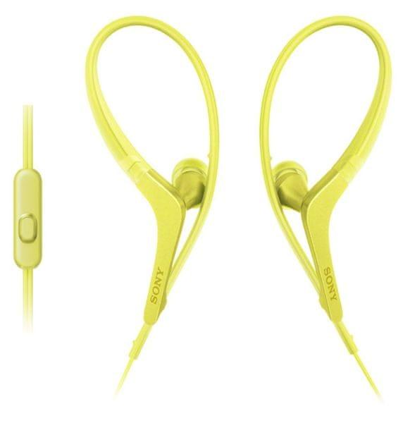 Sony MDR-AS410APY, žlutá