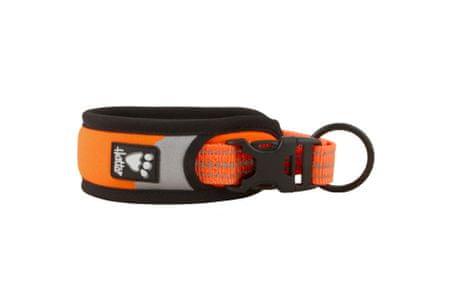 Hurtta Obojek Lifeguard Dazzle 35-45cm oranžový