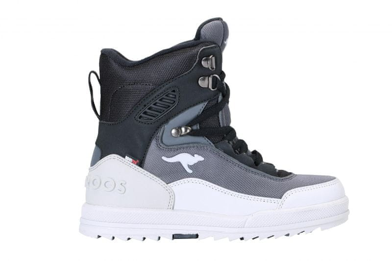 KangaROOS dětská zimní kotníčková obuv Killman 29 šedá