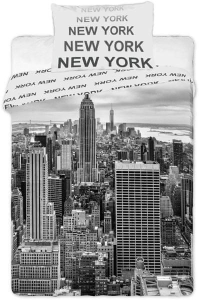 Jerry Fabrics Povlečení fototisk New York 2016 140x200 70x90