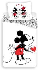 Jerry Fabrics Mickey Heart Ágyneműhuzat