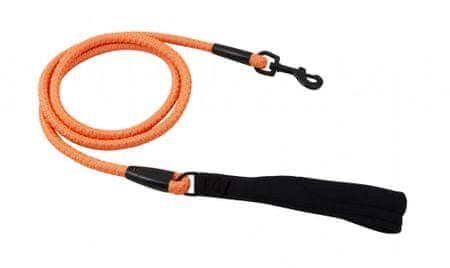 Hurtta povodec Lifeguard Dazzle 120cm/8mm, oranžna
