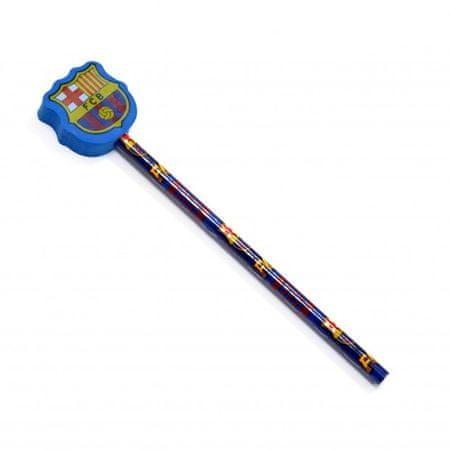 Barcelona svinčnik z radirko (09717)