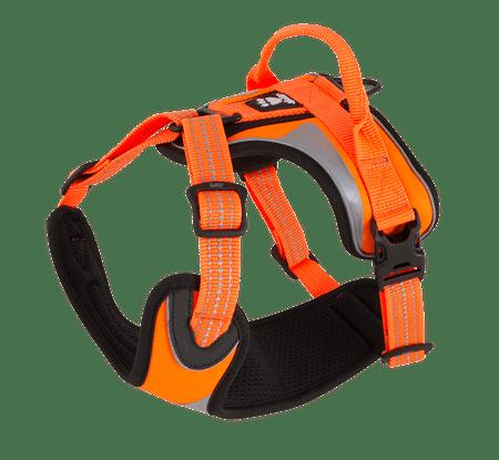 Hurtta oprsnica Lifeguard Dazzle 60-80cm, oranžna