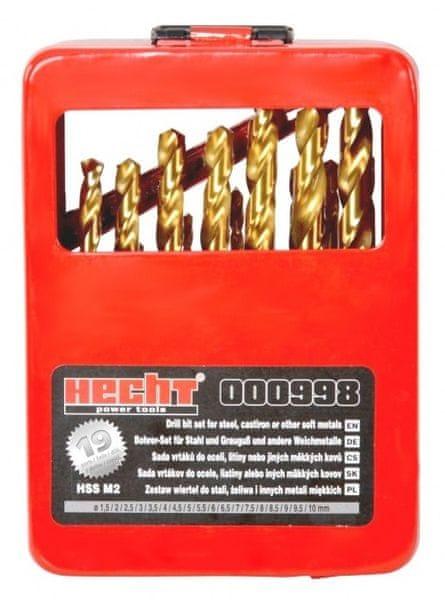 Hecht Sada vrtáků HECHT 000998 (19 ks)