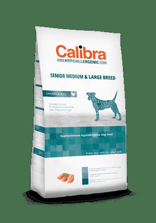 Calibra Hypoallergenic karma dla starszych psów średnich i dużych ras Senior Medium & Large 14 kg