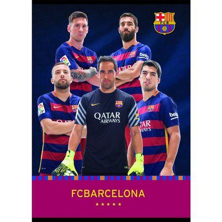 Barcelona zvezek igralci BRA A4 (09623)
