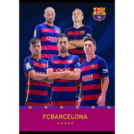 Barcelona zvezek igralci BUS A4 (09622)