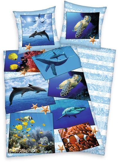 Herding Povlečení Mořský svět 140x200 70x90