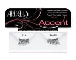 Ardell sztuczne rsztuczne rzęsy Accent 315 Black - 1 para