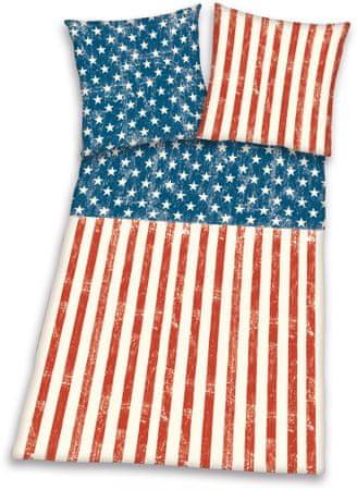 Herding Povlečení vlajka USA