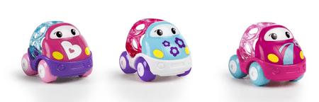 Oball Go Grippers Růžová autíčka 18m+