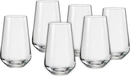 Crystalex čaše Sandra, 440 ml, 6 kom