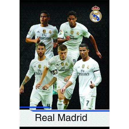 Real Madrid zvezek igralci KRO A4/OC - 54L (09636)