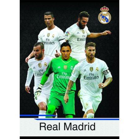Real Madrid zvezek igralci NAV A4/OC - 54L (09635)