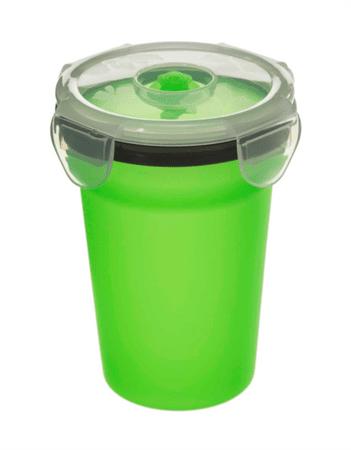 Camry silikonski lonček za juho, 400 ml, zelen