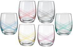 Crystalex poháre  Ellipse 300 ml, 6 ks