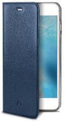 Celly Pouzdro AIR Pelle, Apple iPhone 7, pravá kůže, modré