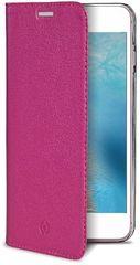 Celly Pouzdro AIR Pelle, Apple iPhone 7, pravá kůže, růžové