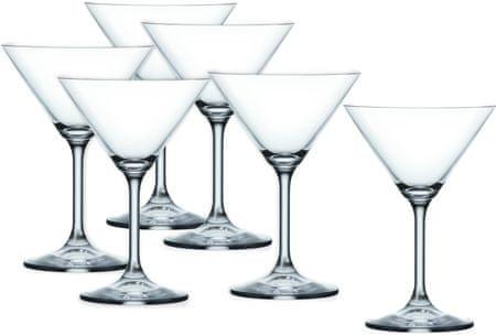 Crystalex koktejlové sklenice Lara 210 ml, 6 ks