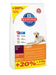 Hill's Canine Adult Light Large Breed Chicken 14.5kg