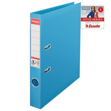 Pořadač pákový polypropylen Esselte No. 1 POWER A4 5 cm světle modrý