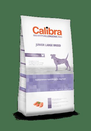 Calibra Hypoallergenic karma dla młodych psów dużych ras Junior Large Breed 14 kg