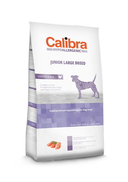 Calibra Dog HA Junior Large Breed Chicken 14kg