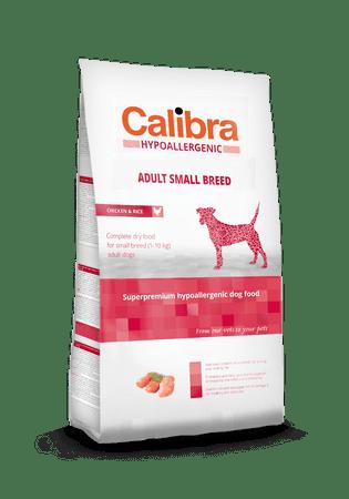 Calibra Hypoallergenic karma dla dorosłych psów małych ras Adult Small Breed 7 kg