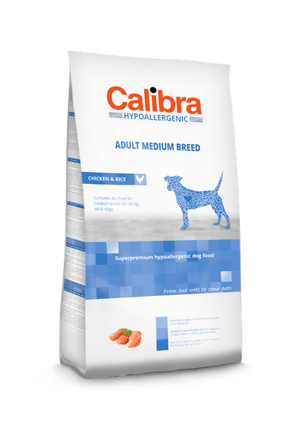 Calibra Dog HA Adult Medium Breed Chicken 14kg