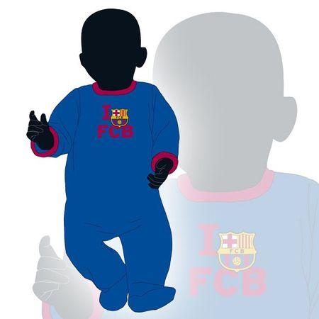 Barcelona otroška pižama pajac 12M (04852)