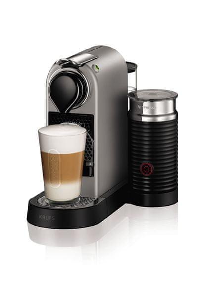 Nespresso KRUPS Nespresso Citiz& Milk Titan XN760B10 + voucher na kávu ZDARMA!