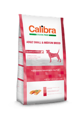 Calibra hrana za pse Dog GF Adult Small/Medium Salmon, 2 kg