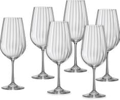 Crystalex poháre na víno Waterfall 550 ml, 6 ks