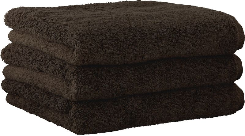 Joop! ručníky UNI 50x100 cm, 3 ks tmavě hnědá