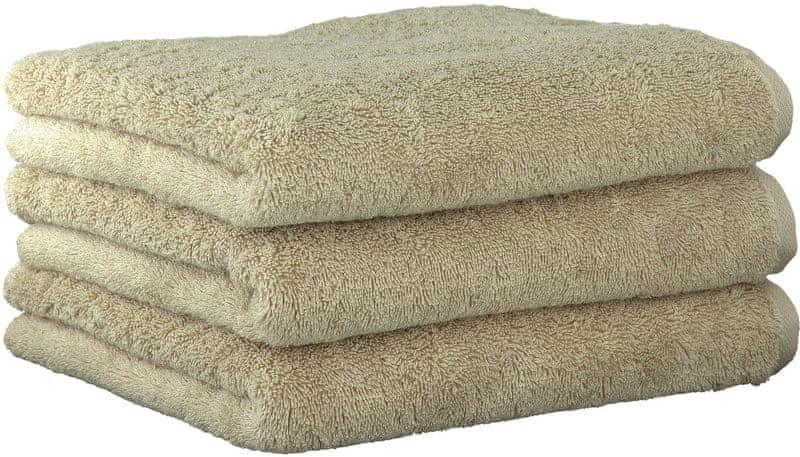 Joop! ručníky UNI 50x100 cm, 3 ks béžová