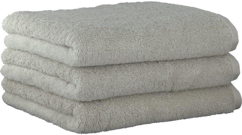 Joop! ručníky UNI 50x100 cm, 3 ks šedá