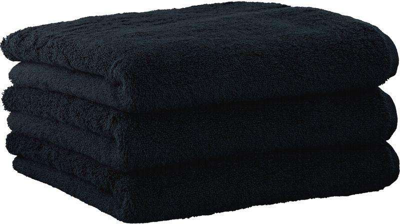 Joop! ručníky UNI 50x100 cm, 3 ks černá