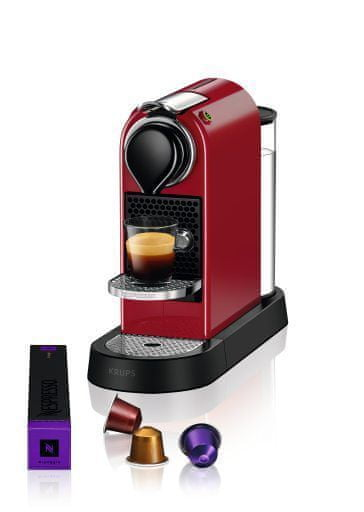 Nespresso KRUPS Citiz Red XN740510