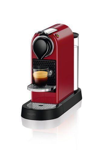 Nespresso KRUPS Nespresso Citiz Red XN740510 + voucher na kávu ZDARMA!