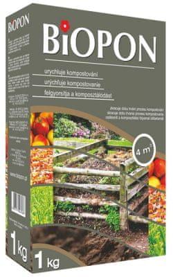 NOHEL GARDEN Urýchľovač kompostu BIOPON 1 kg (9761)