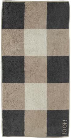 Joop! brisača Squares 80x150 cm, rjava