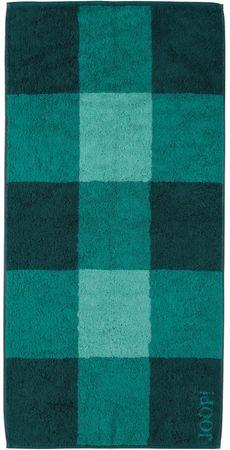 Joop! osuška Squares 80x150 cm smaragdna