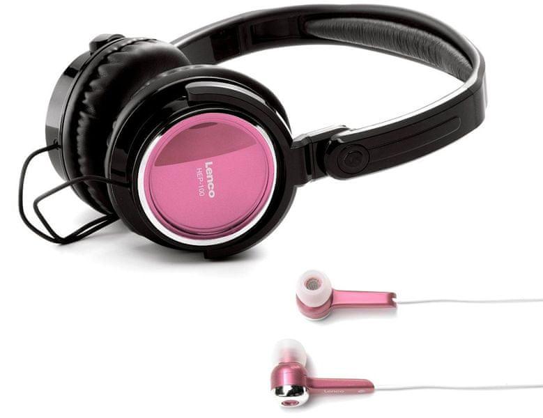 LENCO HEP-100, růžová
