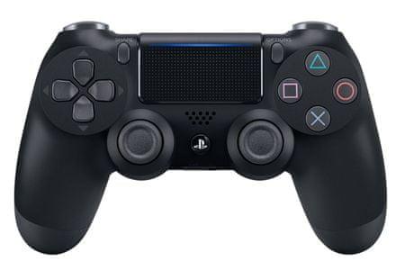 Sony igralni plošček PS4 DualShock 4 V2, črn