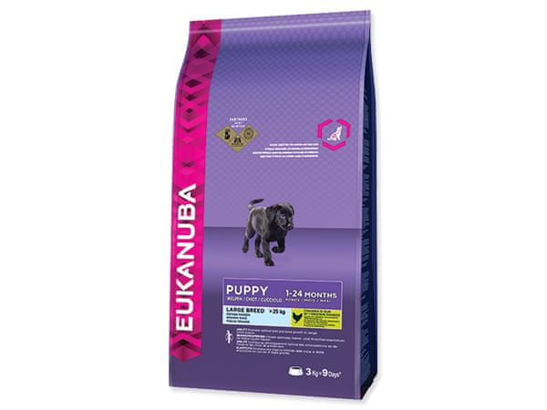 Eukanuba Puppy & Junior Large Breed 3 kg