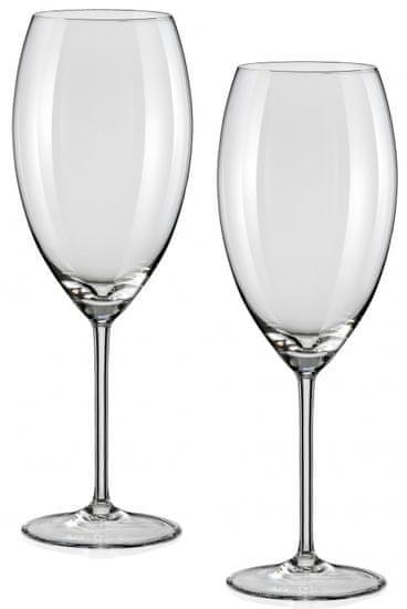 Crystalex sklenice na víno Grandioso 600 ml, 2 ks